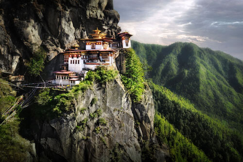 14. Taktsang Palphug Monastery (Tiger's Nest) GÇô Paro District, Bhutan