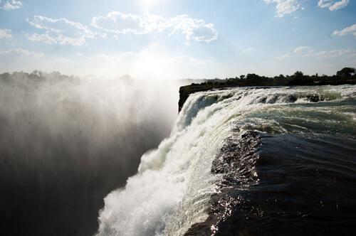 29. Victoria Falls GÇô Zambezi River, Zambia_Zimbabwe