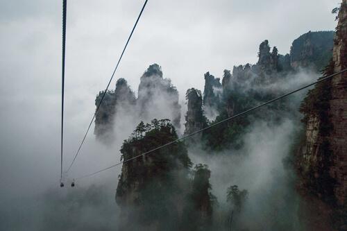 3. Tianzi Mountain Nature Reserve GÇô Hunan, China