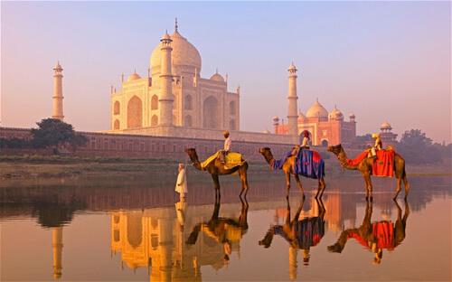 30. Taj Mahal GÇô Uttar Pradesh, India