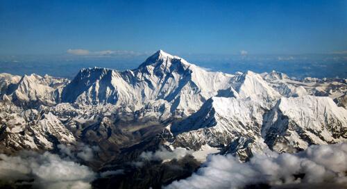 6. Mount Everest GÇô Himalayas, Nepal_Tibet