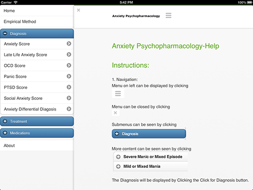 31. Anxiety Psychopharmacology